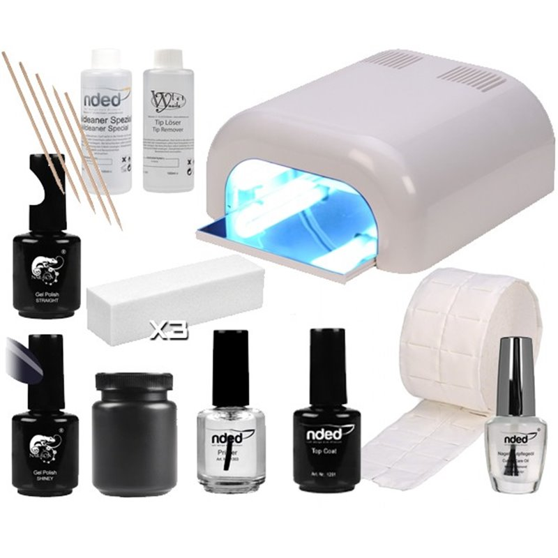 kit demarrage ongles gel