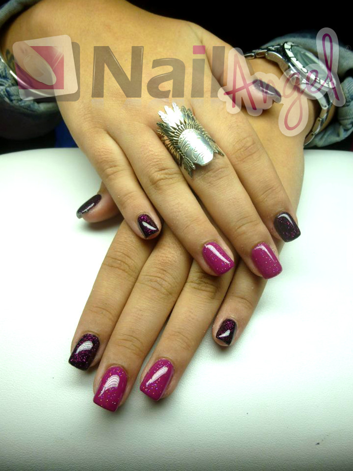 French Manucure Faux Ongles Couleur