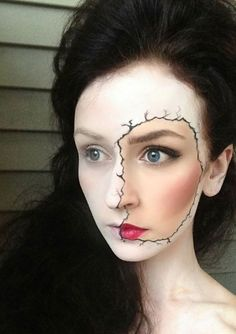 Part 89 - Maquillage halloween simple fille ...
