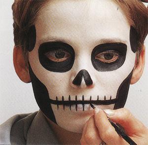 Modele De Maquillage Pour Halloween Beau Maquillage Pour Halloween