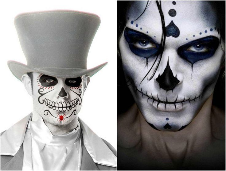 Tuto maquillage squelette simple - Tuto maquillage halloween ...