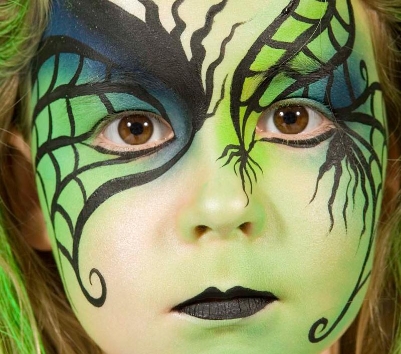 Part 67 - Maquillage sorciere fillette ...