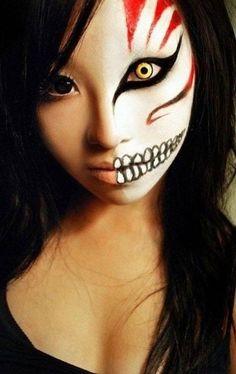 maquillage halloween f