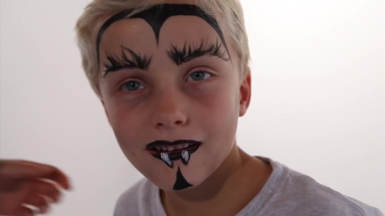 Part 51 - Maquillage halloween facile garcon ...