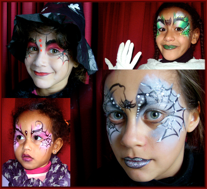 Part 41 - Maquillage fille halloween ...