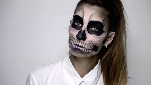 Super Tuto maquillage d halloween | Tartine au chocolat BD51