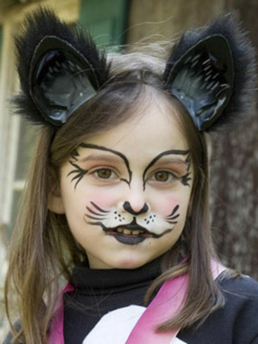 Maquillage Halloween Petite Fille