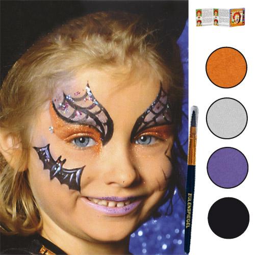 Maquillage sorciere petite fille