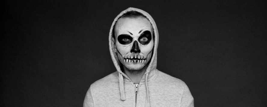 Maquillage facile halloween homme