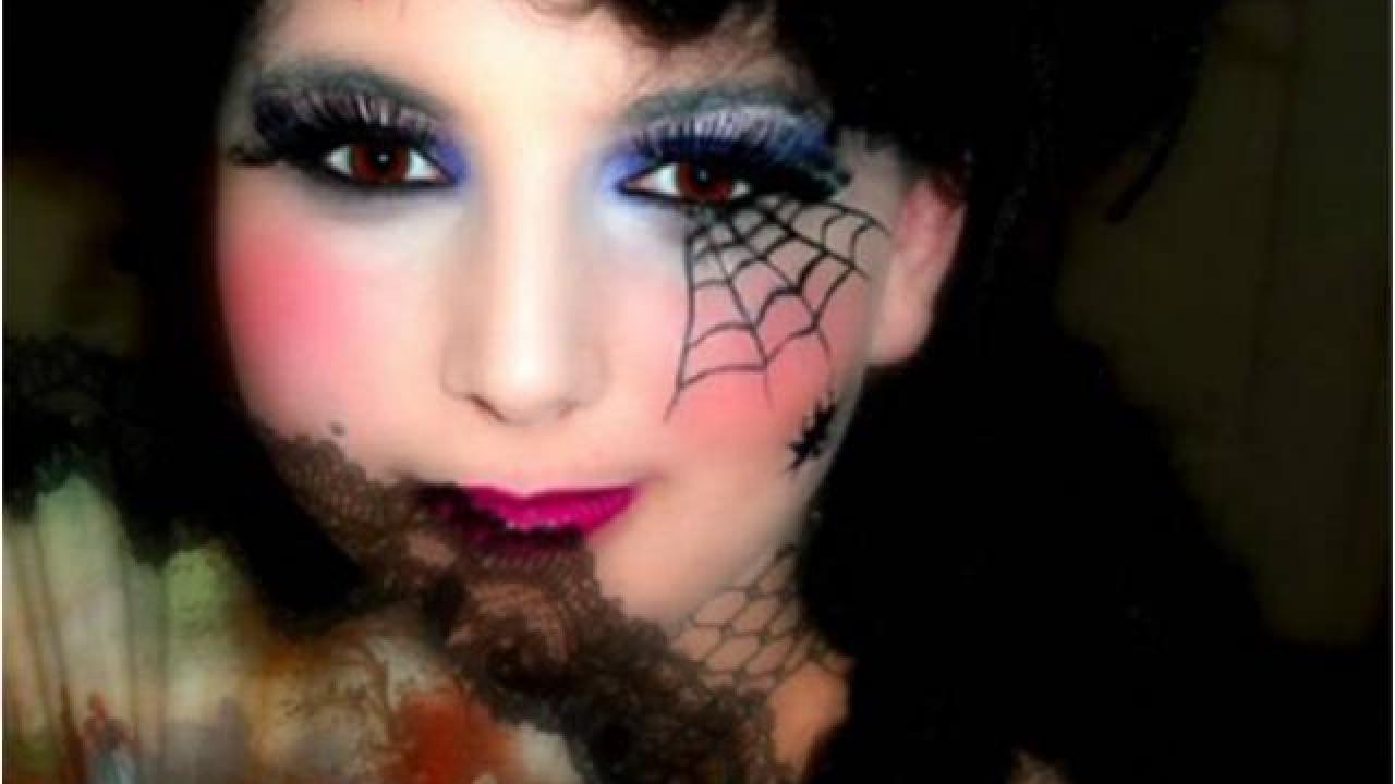 Maquillage facile sorciere halloween