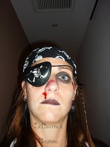 maquillage pirate femme halloween. Black Bedroom Furniture Sets. Home Design Ideas