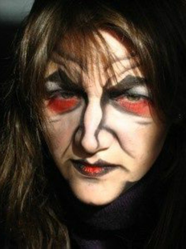 Maquillage facile halloween sorciere