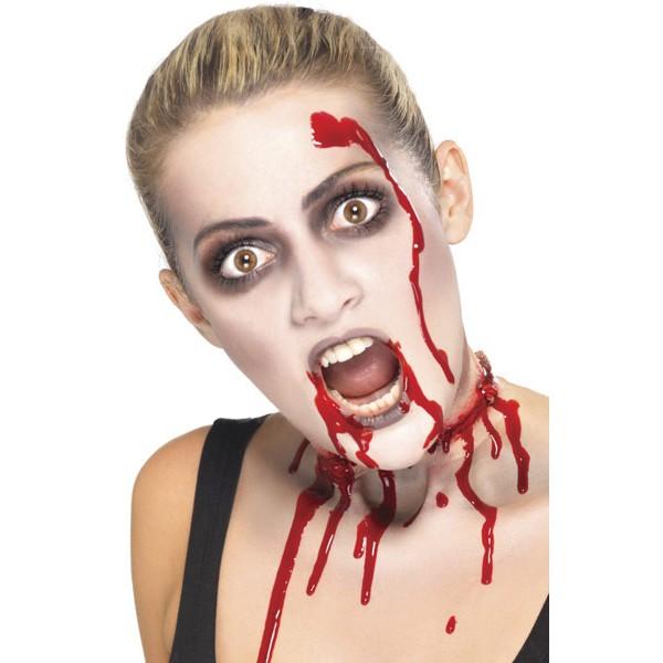 maquillage vampire sang