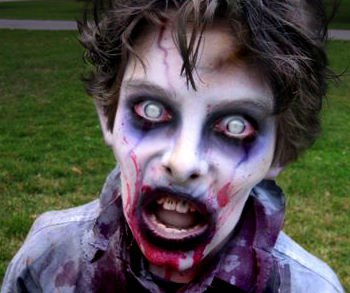 Maquillage Halloween Zombie Homme Facile