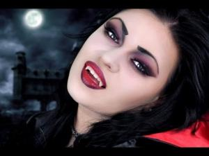 Maquillage simple vampire petite fille - Maquillage vampire petite fille ...
