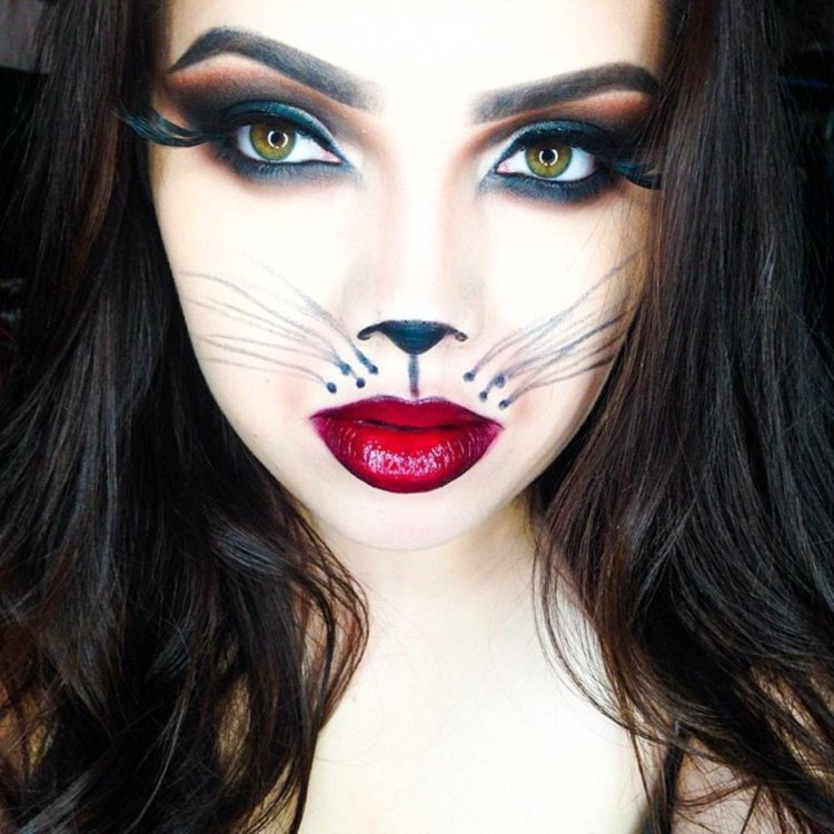maquillage halloween pour femme