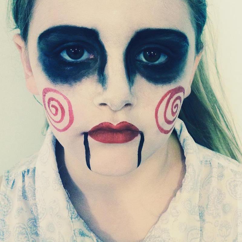 maquillage halloween rouen