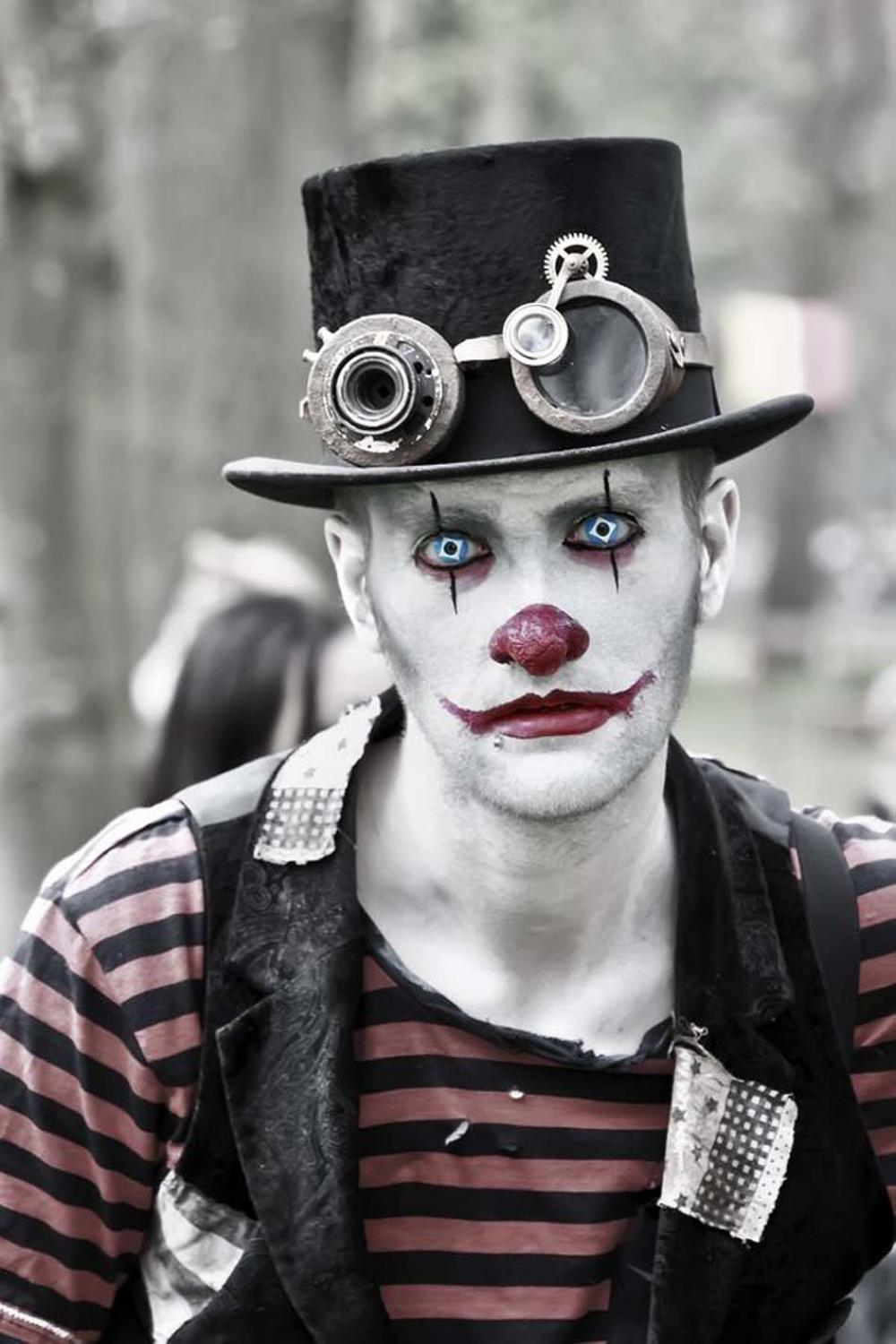 Maquillage Halloween Homme Facile