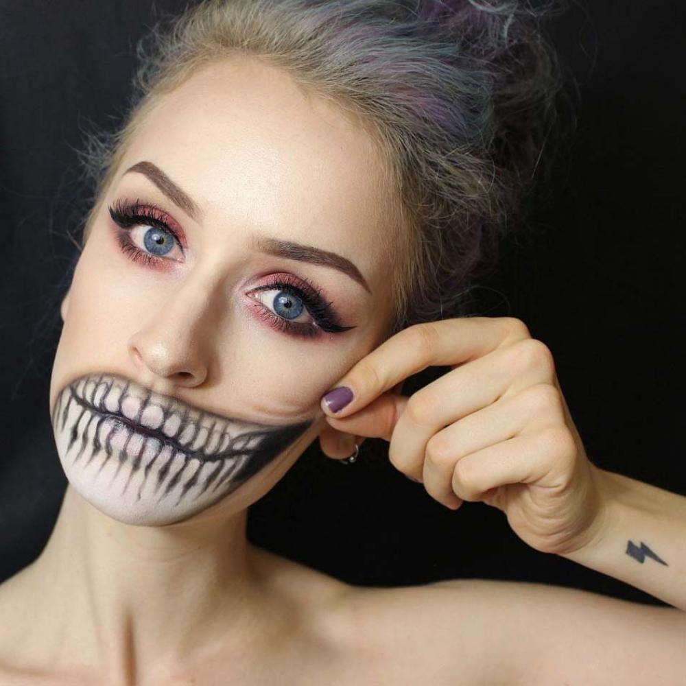 Maquillage Simple Pour Halloween Good Une Fois La Citrouille