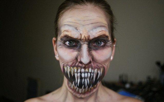 maquillage zombie homme tuto