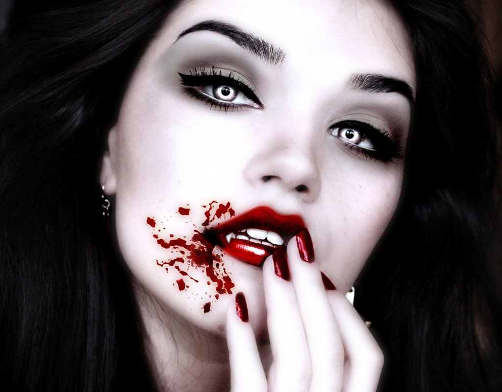 maquillage vampire diaries mutation