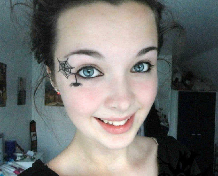 Maquillage Halloween Tartine Au Chocolat Part 26