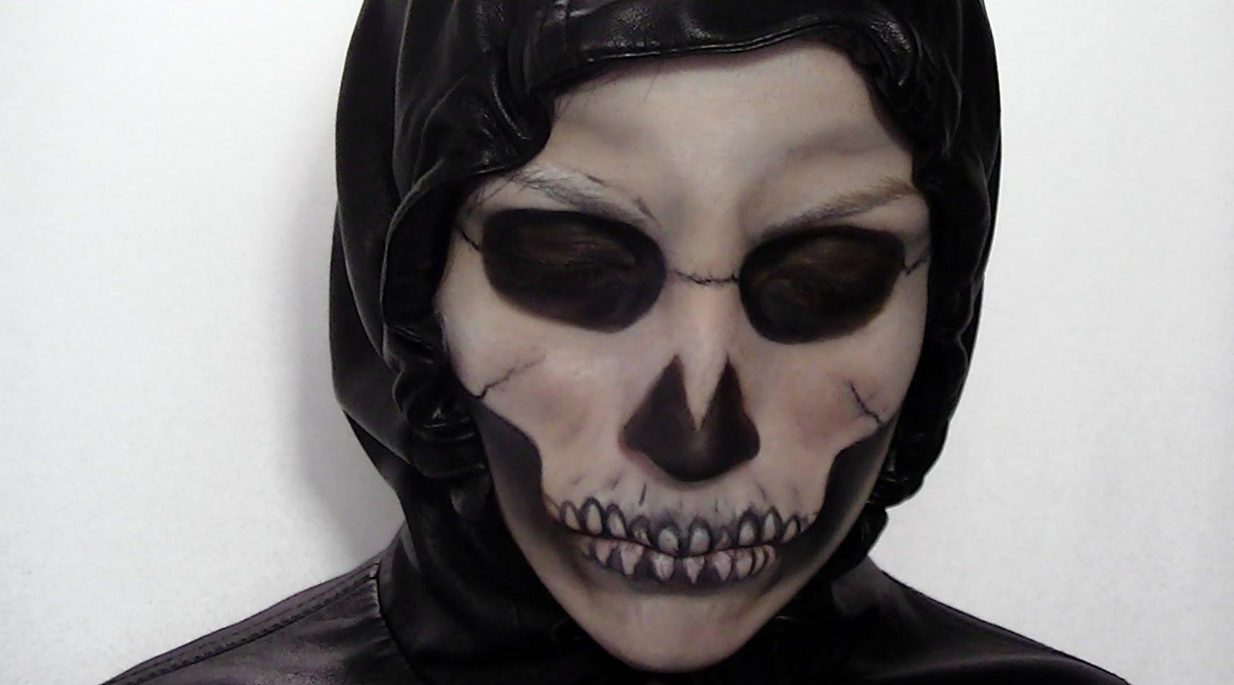 maquillage squelette shanna