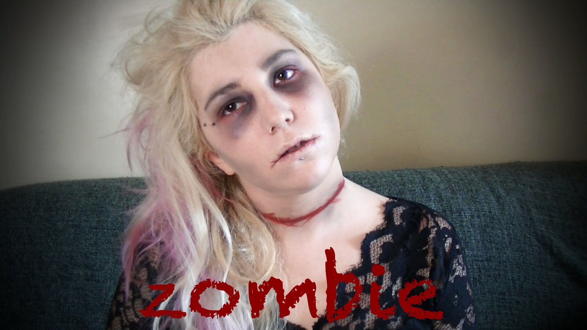 Maquillage Simple Halloween Femme Amazing Maquillage Zombie