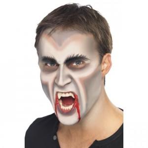 maquillage vampire halloween garcon