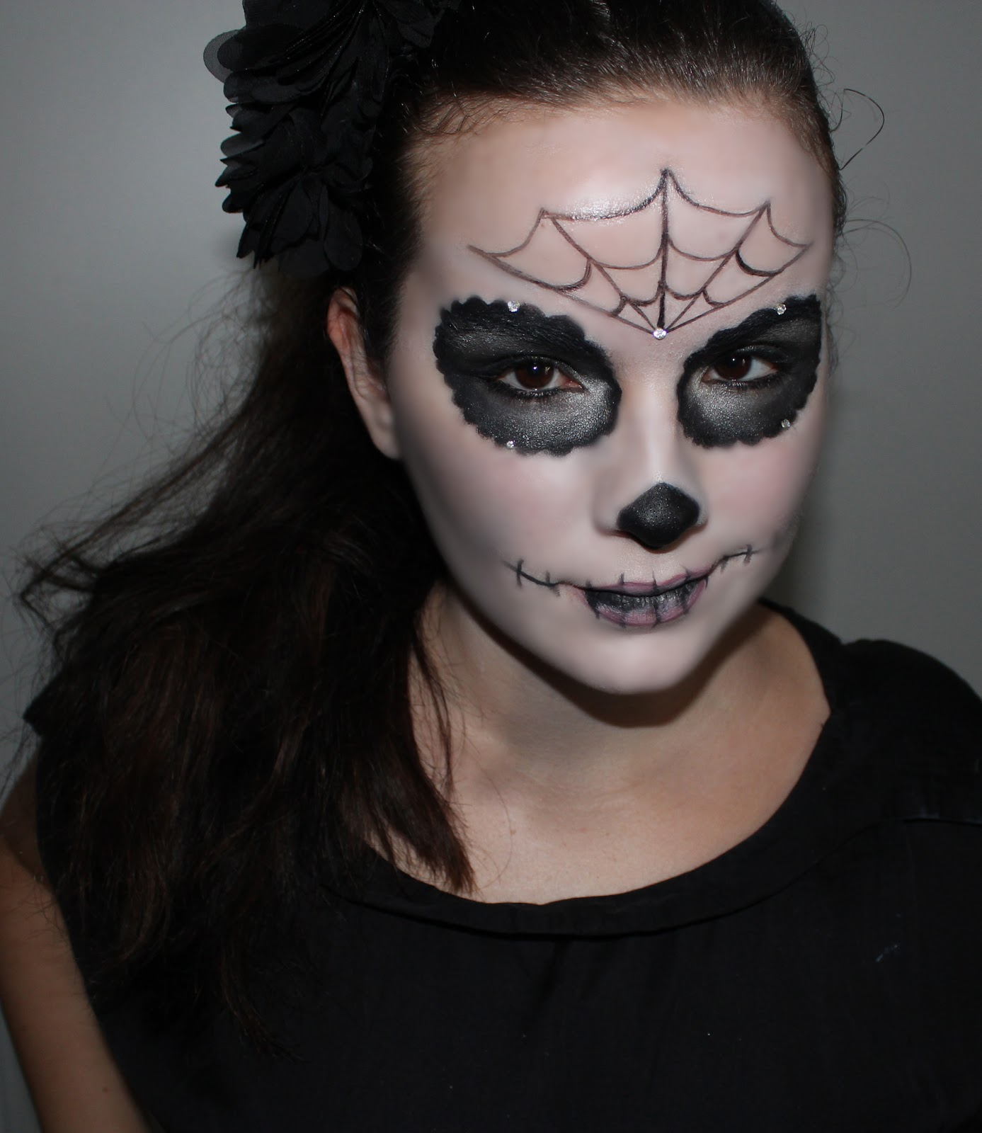 Modele De Maquillage Pour Halloween Facile