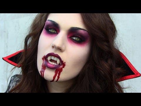 maquillage vampire peur