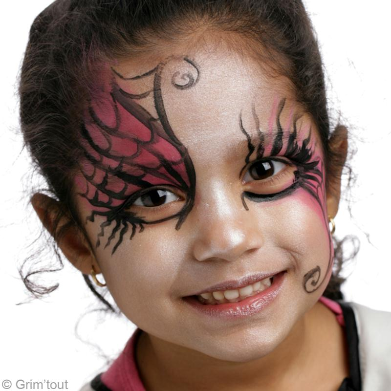 Maquillage Fille Possde Interesting Maquillage Facile Halloween